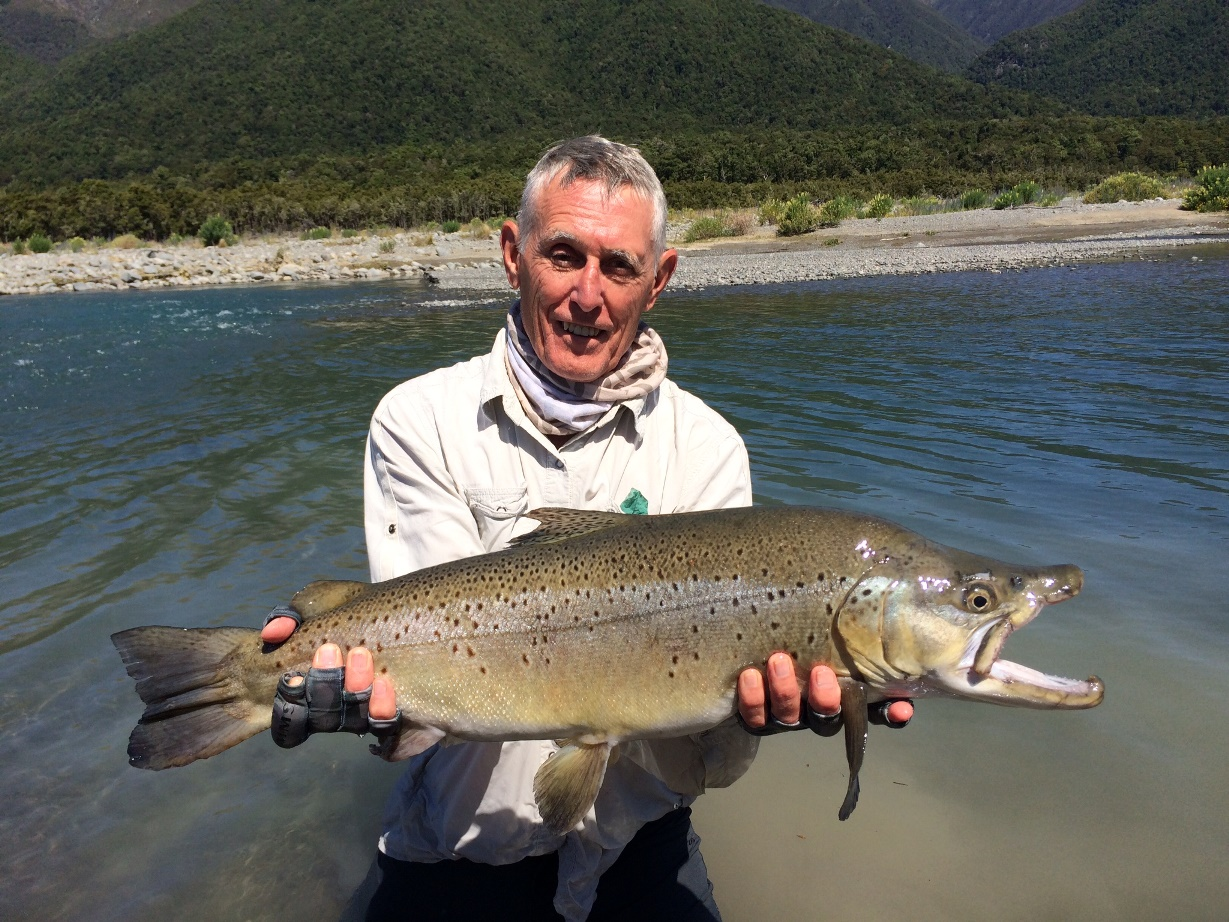 The best fishing day of your life owen river lodge nz for Best fishing days