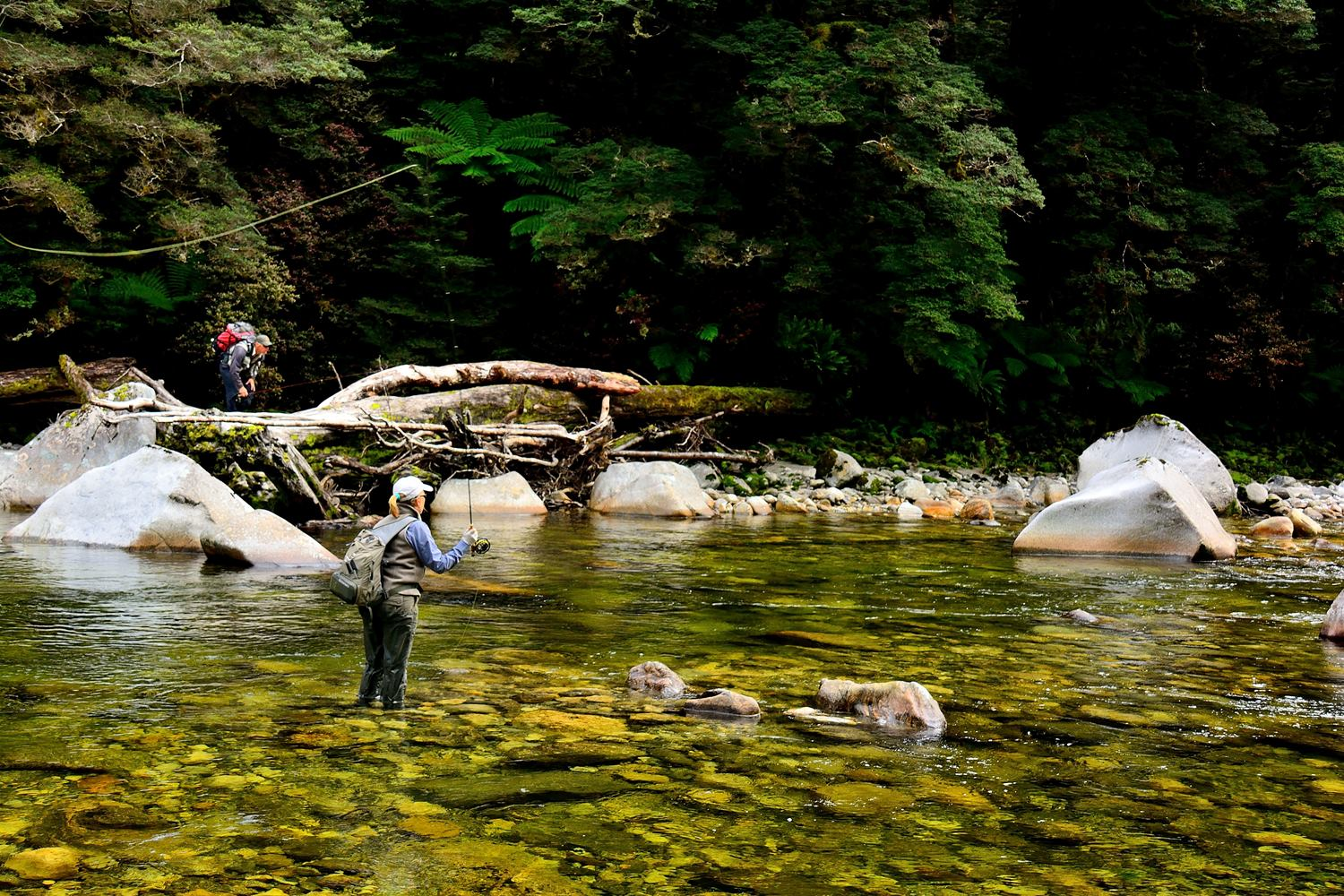 Our blog owen river lodge nz for Colorado fishing lodges