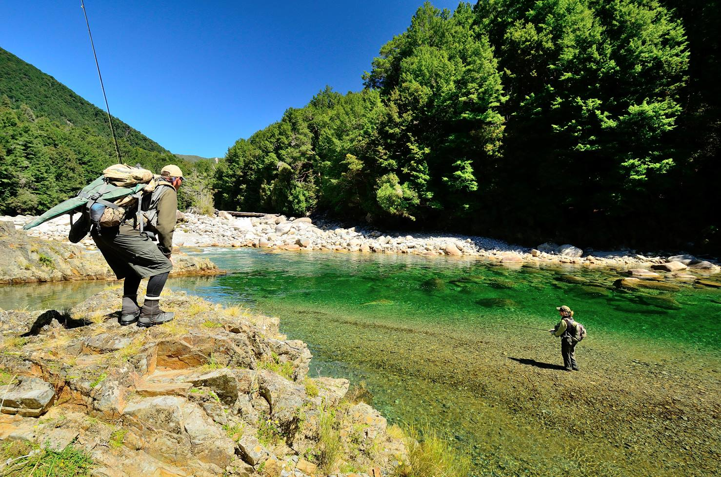 How to be a fly fishing guide owen river lodge nz for Colorado fishing guide