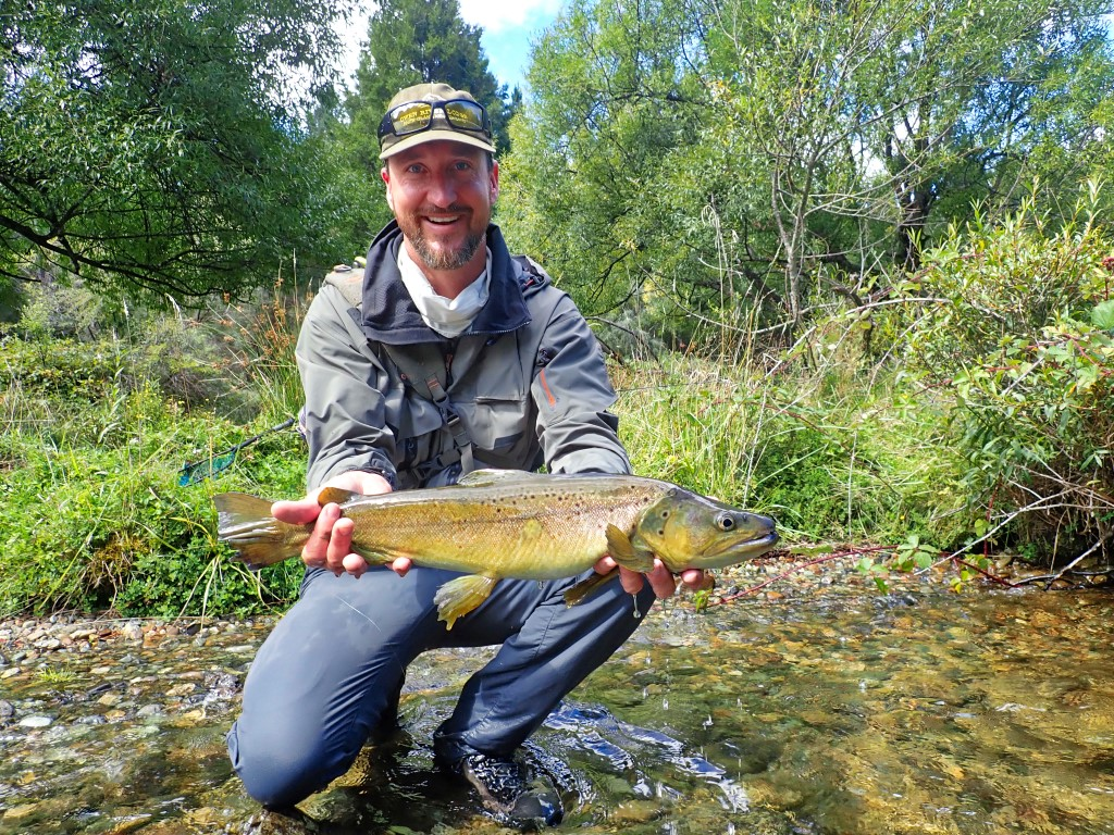 Miles land s a nice wild brown trout